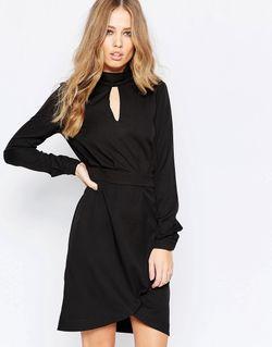 Платье-Рубашка С Длинными Рукавами Y.A.S Venice Черный Y.A.S.                                                                                                              чёрный цвет