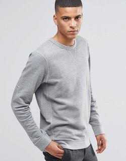 Свитшот Светло-Серый Selected Homme                                                                                                              серый цвет