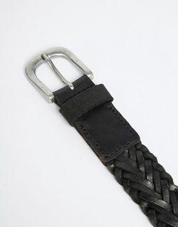 Плетеный Ремень Jack Jones Jack & Jones                                                                                                              черный цвет