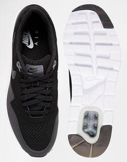Кроссовки Air Max 1 Ultra Moire 705297-010 Nike                                                                                                              черный цвет