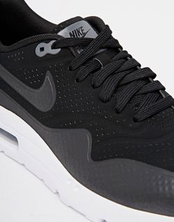 Кроссовки Air Max 1 Ultra Moire 705297-010 Nike                                                                                                              чёрный цвет