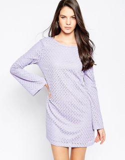 Вязаное Платье Dimitri Сиреневый Motel                                                                                                              фиолетовый цвет