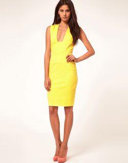 Платье-Футляр С Глубоким Вырезом Hybrid                                                                                                              чёрный цвет