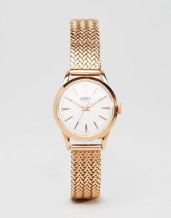 Часы Цвета Розового Золота Hl25-M-0022 Richmond Розовое Henry London                                                                                                              Розовое Золото цвет