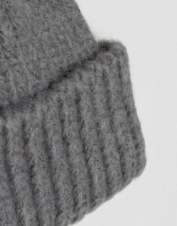 Рыбацкая Шапка-Бини Крупной Вязки С Широким Отворотом Asos                                                                                                              серый цвет
