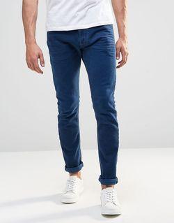 Синие Эластичные Джинсы Скинни Jeans Tepphar 850y Diesel                                                                                                              синий цвет