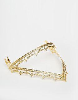 Корона Для Волос Золотой Mordekai                                                                                                              золотой цвет