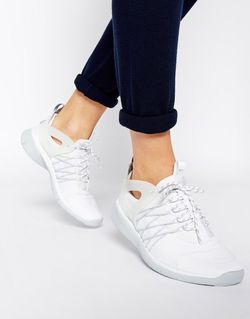 Бело-Серые Кроссовки Free Viritous Nike                                                                                                              белый цвет