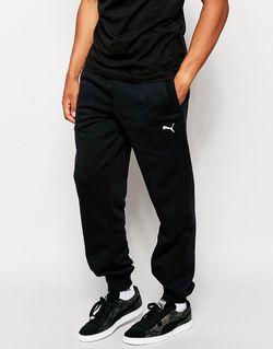 Спортивные Штаны С Манжетами Черный Puma                                                                                                              черный цвет