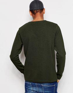 Легкий Свитшот В Рубчик Selected Homme Selected Homme                                                                                                              зелёный цвет