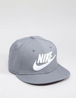 Серая Бейсболка Futura 584169-067 Серый Nike                                                                                                              серый цвет