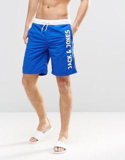 Шорты Для Плавания С Логотипом Синий Jack & Jones                                                                                                              синий цвет