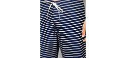 Пляжные Шорты В Полоску Abercrombie Fitch Темно-Синий Abercrombie and Fitch                                                                                                              синий цвет