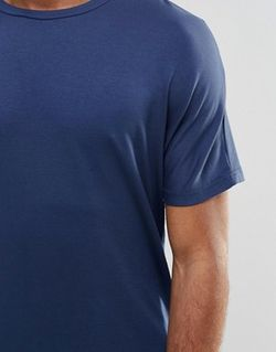 Премиум-Футболка Темно-Синий Jack & Jones                                                                                                              синий цвет
