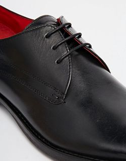 Кожаные Туфли Дерби Base London Bayham Base London                                                                                                              черный цвет