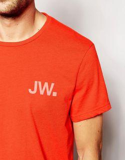 Футболка С Логотипом Jw И Принтом На Jack Wills                                                                                                              Flame цвет