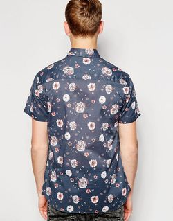 Jack Jones Short Sleeve Shirt With All Jack & Jones                                                                                                              Navy Blazer цвет