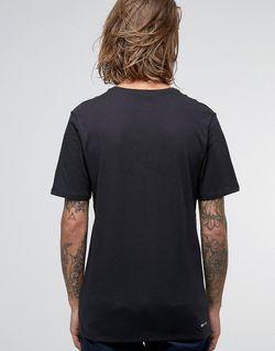Черная Футболка С Принтом Логотипа 844107-010 Nike SB                                                                                                              черный цвет