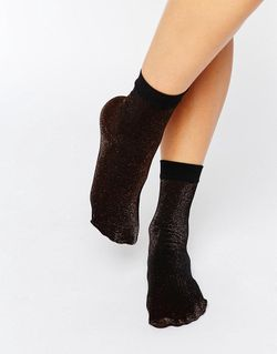 Glitz Anklet Sock Коричневый Jonathan Aston                                                                                                              None цвет