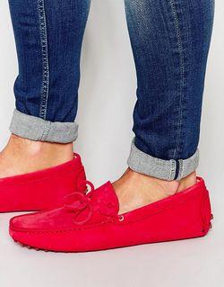 Замшевые Мокасины Le Magnifique Красный Bobbies                                                                                                              красный цвет