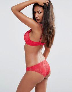 Бюстгальтер С Треугольными Чашечками Refined Glamour Wonderbra                                                                                                              красный цвет
