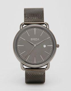 Черные Часы Из Нержавеющей Стали Linx Черный Breda                                                                                                              черный цвет