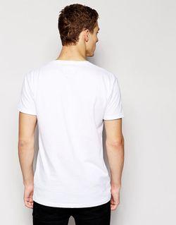 Футболка С Контрастным Карманом Minimum Minimum Clothing                                                                                                              Белый цвет