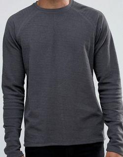 Длинный Свитшот С Рукавами Реглан Серый 2890 !Solid                                                                                                              None цвет