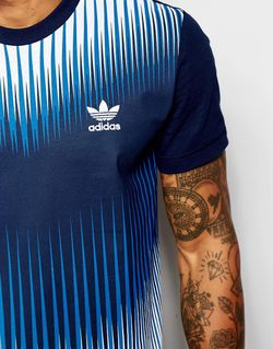Mezcla T-Shirt Ao2831 adidas Originals                                                                                                              синий цвет