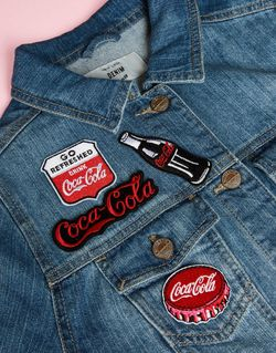 Нашивки X Coca Cola Мульти Skinnydip                                                                                                              None цвет