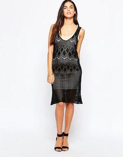 Трикотажное Платье My Own Way Черный Goldie                                                                                                              чёрный цвет
