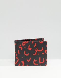 Бумажник С Красный Животным Принтом Черный Smith And Canova                                                                                                              черный цвет