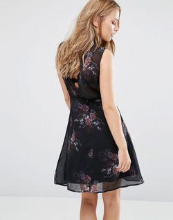Платье Без Рукавов С Цветочным Принтом Dise SuperTrash                                                                                                              None цвет