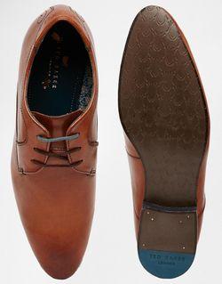 Кожаные Туфли Дерби Leam Ted Baker                                                                                                              коричневый цвет