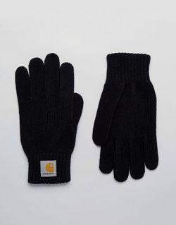 Перчатки Carhartt WIP                                                                                                              черный цвет