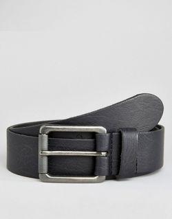 Кожаный Ремень Черный Asos                                                                                                              чёрный цвет