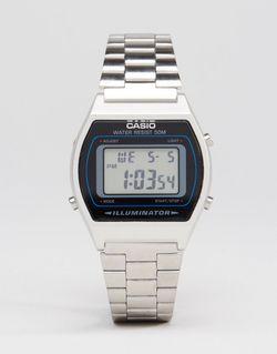 Серебристые Цифровые Часы B640wd Серебряный Casio                                                                                                              Серебряный цвет