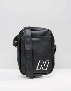 Черная Сумка Small Items Черный New Balance                                                                                                              чёрный цвет