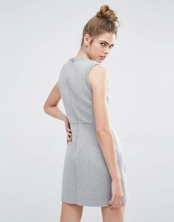 Платье-Футболка Без Рукавов С Аппликациями Orfeo Серый Sportmax Code                                                                                                              None цвет