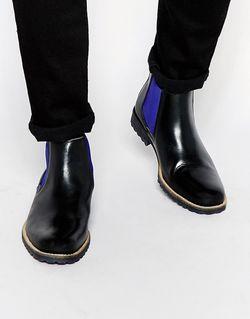 Кожаные Ботинки Челси Chiggy Черный Dune                                                                                                              черный цвет