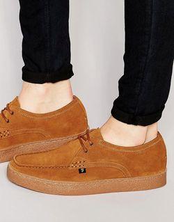 Замшевые Туфли-Криперы Form Lo Коричневый Farah                                                                                                              коричневый цвет