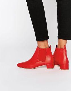 Кожаные Ботинки Челси Beau Miista                                                                                                              красный цвет