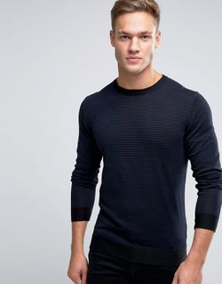 Premium Jumper In Stripe Jack & Jones                                                                                                              синий цвет