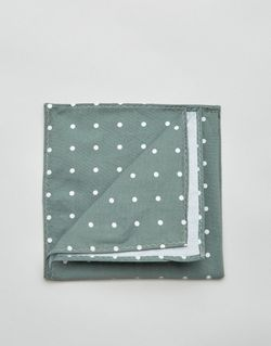 Платок-Паше В Горошек Зеленый Jack & Jones                                                                                                              зелёный цвет