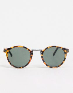 Солнцезащитные Очки C Круглыми Стеклами В Стиле Asos                                                                                                              коричневый цвет