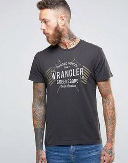 Футболка С Логотипом Americana Призрак Wrangler                                                                                                              None цвет