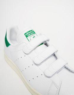 Кроссовки На Липучках Stan Smith adidas Originals                                                                                                              белый цвет