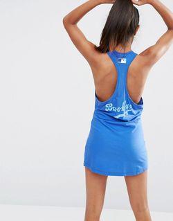 Пляжное Платье Со Спинкой-Борцовкой Brooklyn Majestic                                                                                                              синий цвет