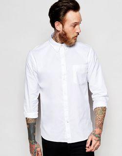 Оксфордская Рубашка Слим В Строгом Стиле Paul PS PAUL SMITH                                                                                                              белый цвет