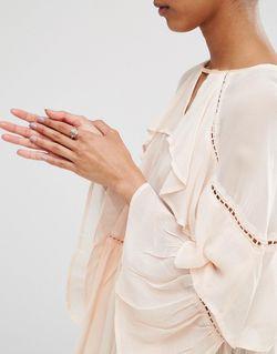 Кольцо С Покрытием Из Розового Золота Julie Pieces                                                                                                              None цвет